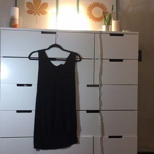 14th & Union Sexy Black Sleeveless Top
